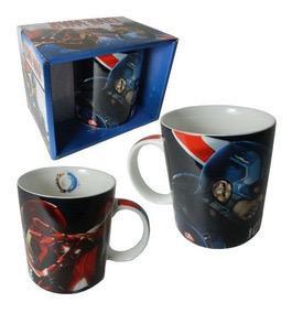 Jarro mug ceramica en caja Civil War original Cresko