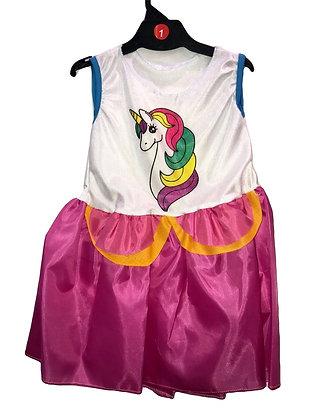 Disfraz de tela Unicornio