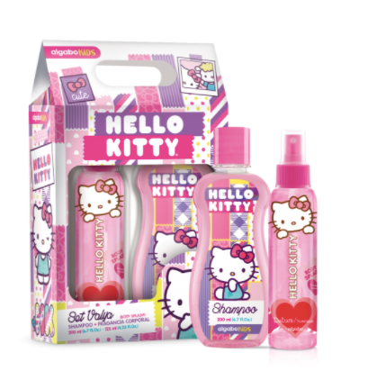 Set body splash+Shampoo Hello Kitty Algabo art 3800001