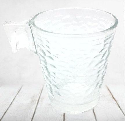 Jarro de cafe Crickle vidrio Turkia 260cc Soifer art mg112