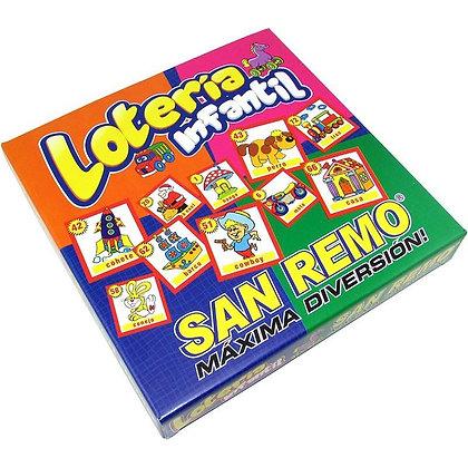 Loteria infantil San Remo art 42306