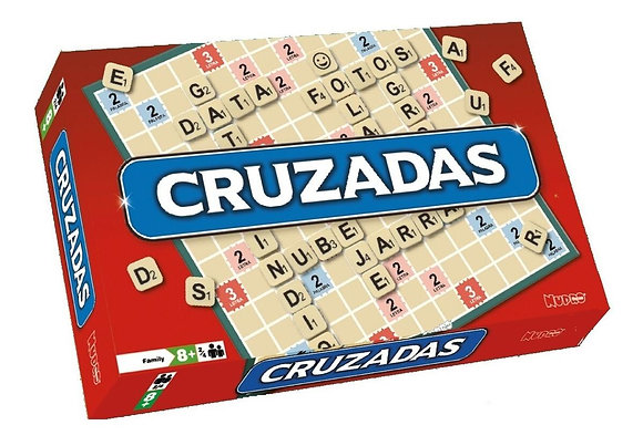 Juego Cruzadas(scrabble) Nupro caja 33x21x27cm
