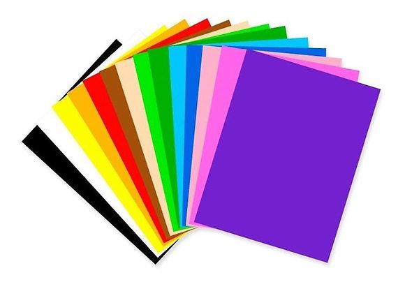 Cartulina de colores 45x65cm