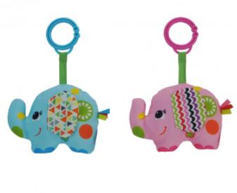 Sonajero elefante tela 12cm Woody Toys art 56676