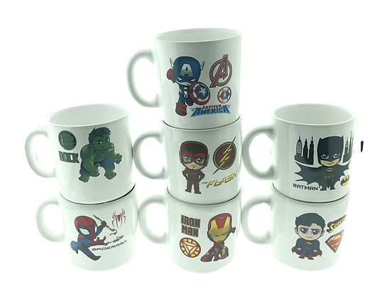 Jarro mug ceramica Mini Heroes Lomas