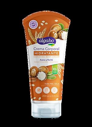 Crema corporal  hidratante avena y karite Algabo art 6060508