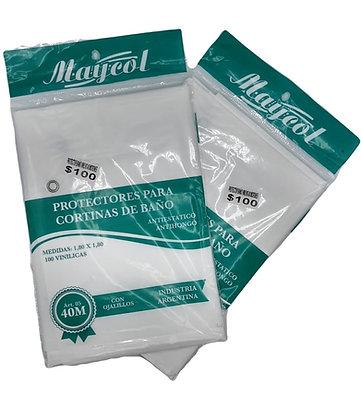 Protector para cortina de baño Maycol art 05