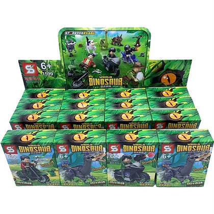 Juego tipo Lego Dinosaurios 8 modelos distintos TR
