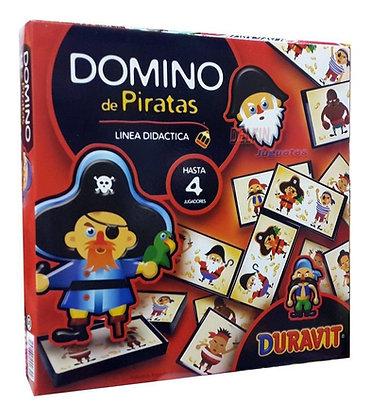 Domino Piratas fichas plasticas Duravit 28x28cm
