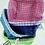 Thumbnail: Cesta cuadrille con tela 20 cm Soifer  9206