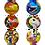 Thumbnail: Pelota de goma personajes TR JU-258c