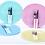 Thumbnail: Juego de 12 piezas vidrio color Soft Carol art 4036