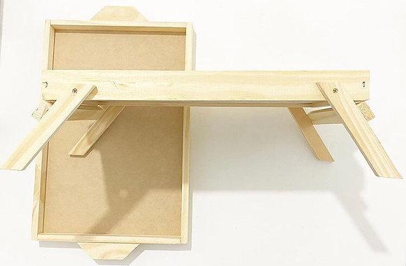 Bandeja cama con patas madera oferta Zoom