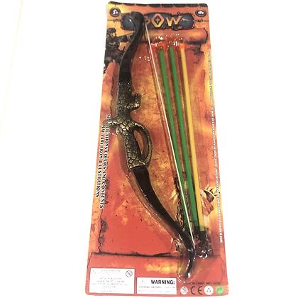 Arco y flecha 38x17cm Sebigus art 50886