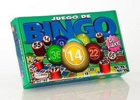 Bingo lujo caja grande 40x23x7cm Dubimax