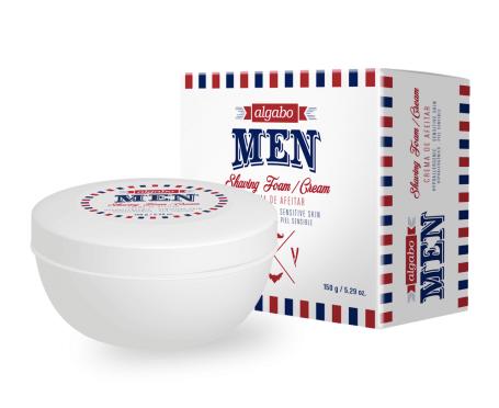 Men crema de afeitar 150g c/estuche Algabo art 6340201