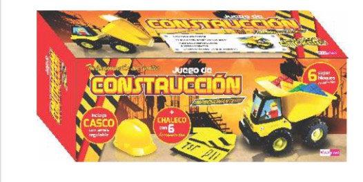 Camión construcción 75cm con chaleco y casco Maxplast art 15081