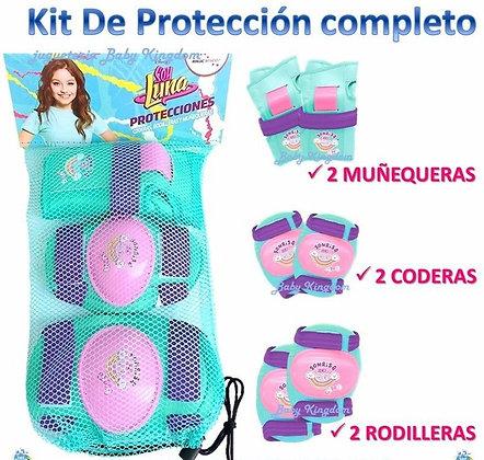 Kit de protecciones Soy Luna original nena