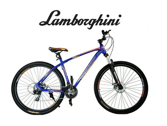 Bicicleta rodado 29 Lamborghini aluminio cambios Shimano 21 cambios