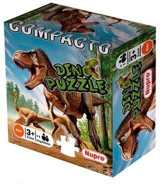 Puzzle Dino x36 piezas compacto Nupro