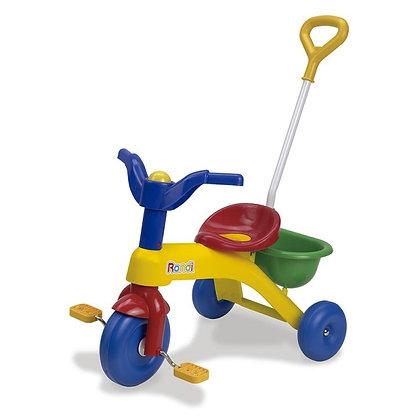 Mi primer triciclo Rondi con barra 96,5x84x42cm art 3076