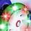 Thumbnail: Monopatin 4 ruedas c/luz Zoombies Stark art 5805