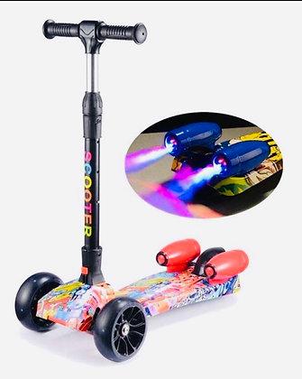 Scooter con luz y sonido