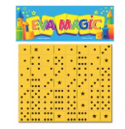 Domino goma eva 17x15cm Eva magic art 3100