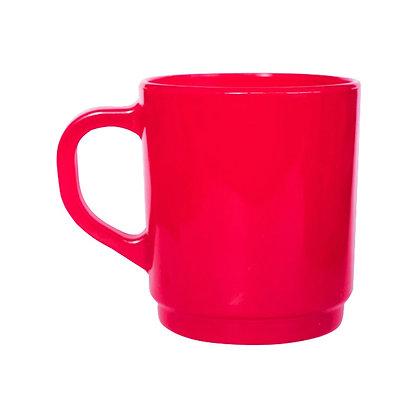 Jarro mug vidrio Magenta 265cc Durax
