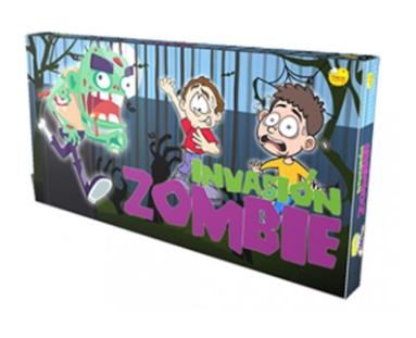 Juego de recorrido Invasion Zombie YUYU art 111y