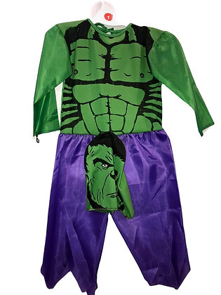 Disfraz de tela Increible Hulk