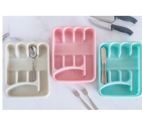 Cubiertero 5 divisiones Tay plast