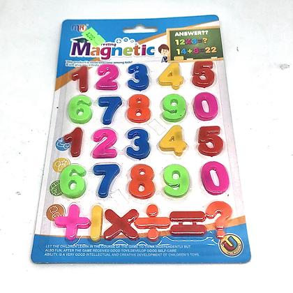Numeros magneticos 22x15cm Sebigus art 51266