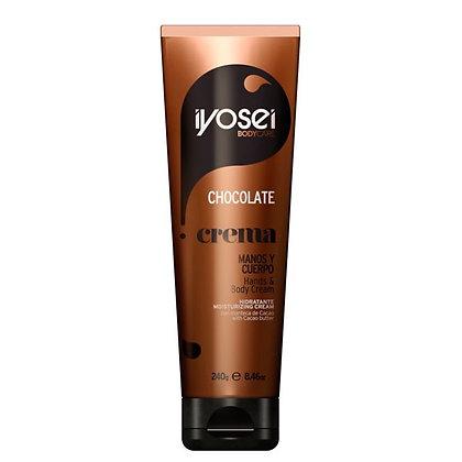 Crema para manos y cuerpo Chocolate 240ml Iyosei