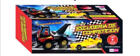 Camión con auto F1 75cm  Maxplast art 15085