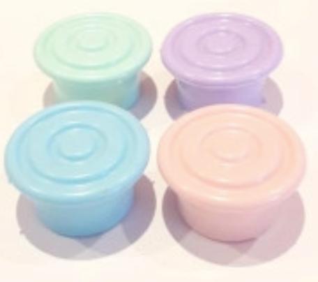 Tapon de botella circulos pastel Cliker