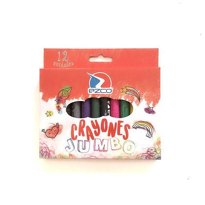 Crayones x 12 Jumbo Ezco
