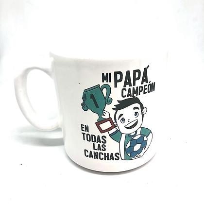 2 Jarros ceramica Día Del Padre Las Lomas