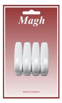 Percha x 4 para tazas autoadhesivas Magh art 1352