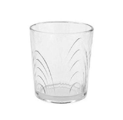 Vaso de vidrio Coraline bajo Durax
