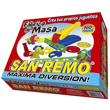 Fabrica de masa con masas y accesorios San Remo