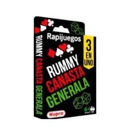 Rapi Rummy 3 en 1 Nupro
