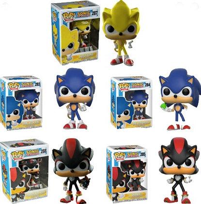 Muñecos simil Funko POP Sonic 11,5cm TR 2855
