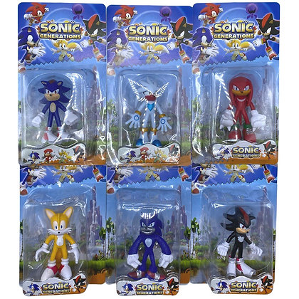 Muñeco Sonic 14 cm TR JU-3148