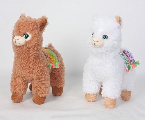 Peluche alpaca 32cm Woody Toys art 8033