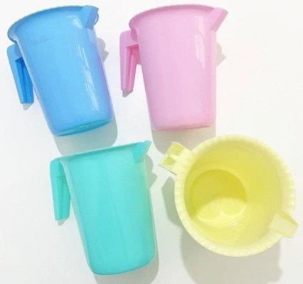 Jarra plastica 2 litro color pastel Gorosito