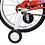 Thumbnail: Bicicleta rod 14 Atomic Strark art 6017