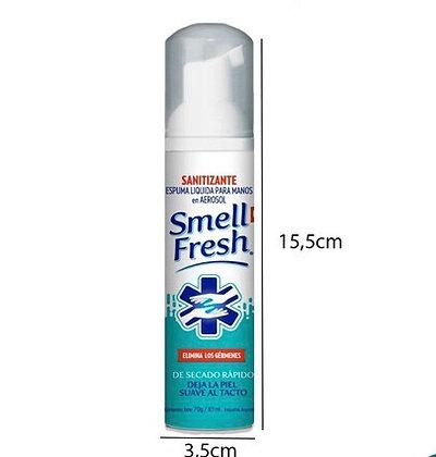 Sanitizante en espuma Smell Fresh 96 ml