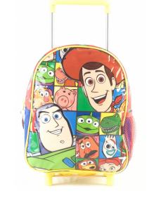 "Mochila Toy Story 4  c/carro 11"" original Wabro art 61304"