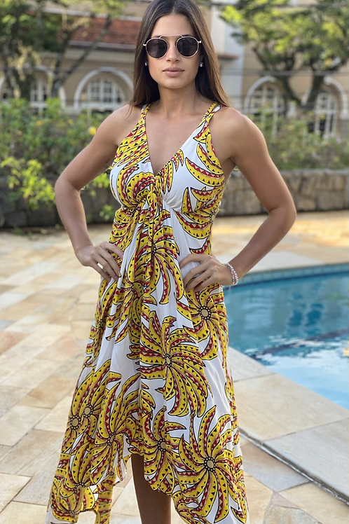 Vestido Aline Amarelo